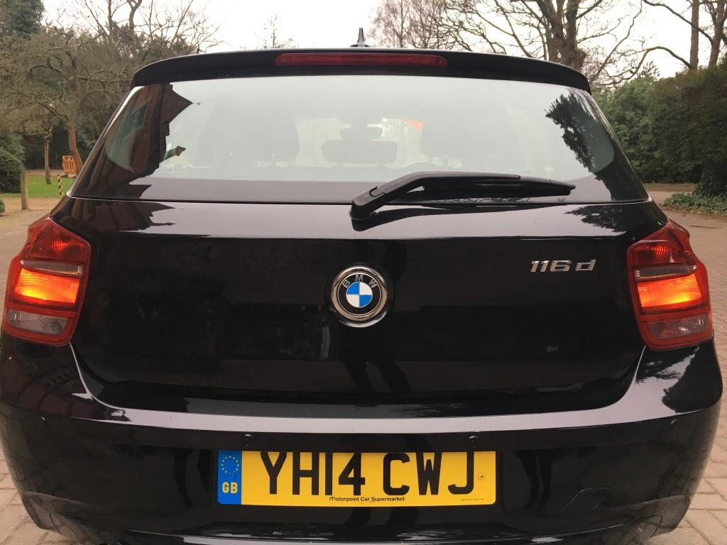 BMW 1 SERIES 1.6 116D EFFICIENTDYNAMICS 5DR
