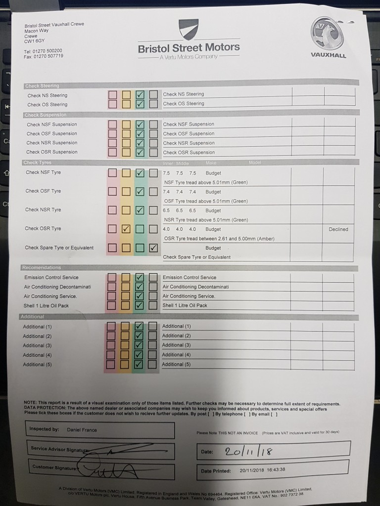 VAUXHALL ZAFIRA 1.9 CDTI SRI 150 ( EXTERIOR PACK)