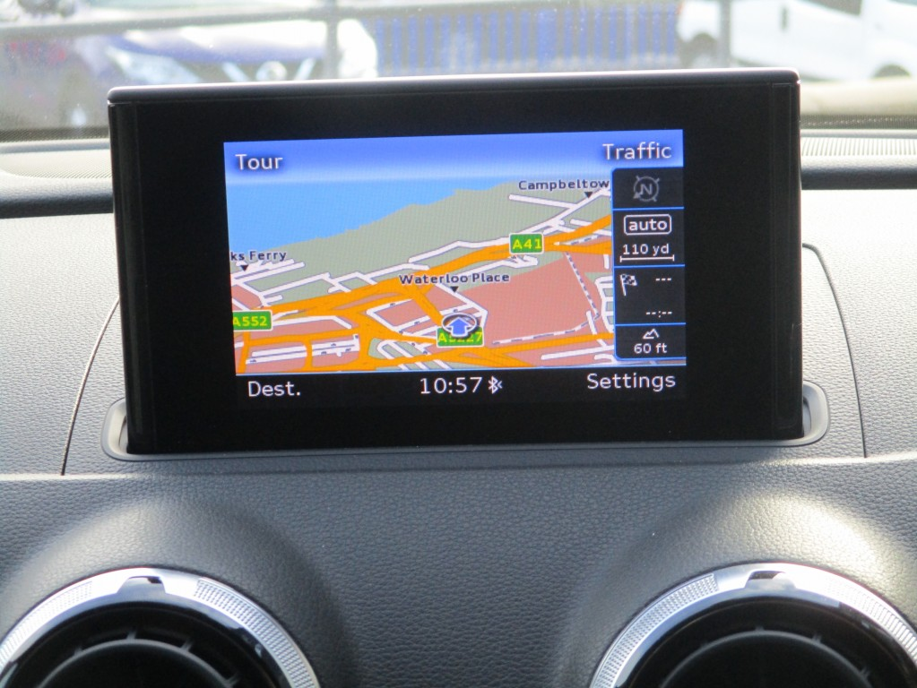 AUDI S3 2.0 S3 SPORTBACK QUATTRO 5DR SEMI AUTOMATIC