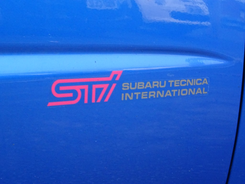 SUBARU IMPREZA 2.5 WRX STI TYPE UK 4DR