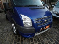 FORD TRANSIT 2.2 TDCI 260 SPORT 140 BHP LR SWB VAN LOW MILEAGE FSH 2 OWNERS METALLIC BLUE HIGH SPEC AA APPROVED