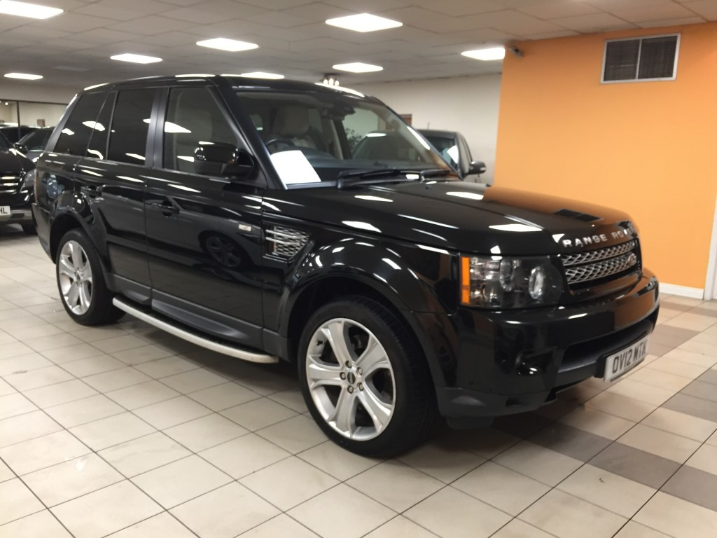 LAND ROVER RANGE ROVER SPORT 3.0 SDV6 HSE LUXURY 5DR AUTOMATIC
