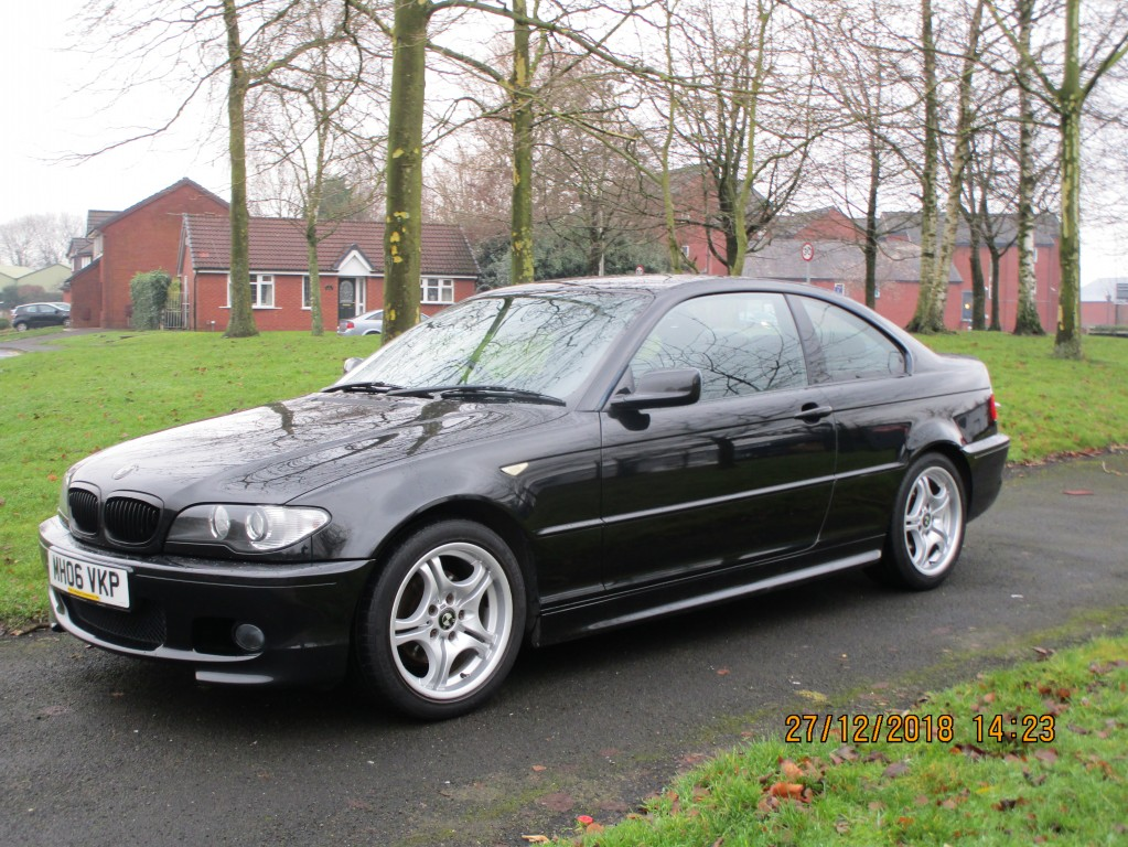BMW 3 SERIES 2.0 318CI M SPORT COUPE - AIR CON