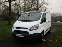 FORD TRANSIT CUSTOM 2.2TDCI 290 - ONE OWNER - FSH