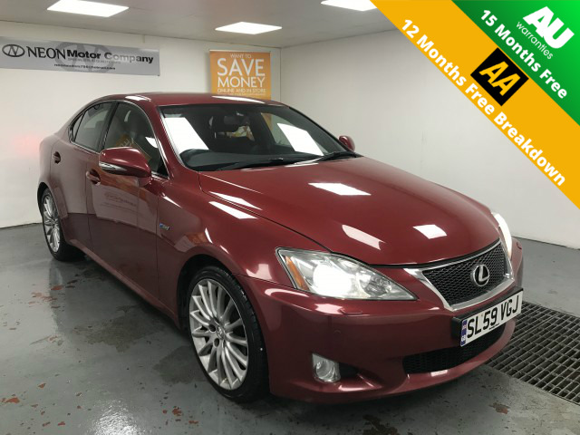 Used LEXUS IS 2.5 250 F SPORT 4DR AUTOMATIC in West Yorkshire