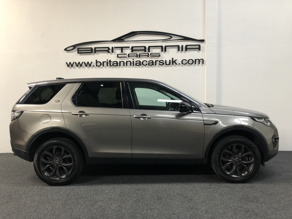 Land Rover Discovery Sport 2 0 Td4 Se Tech 5dr Automatic