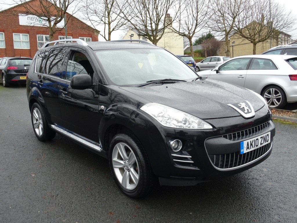 PEUGEOT 4007 2.2 GT HDI 5DR