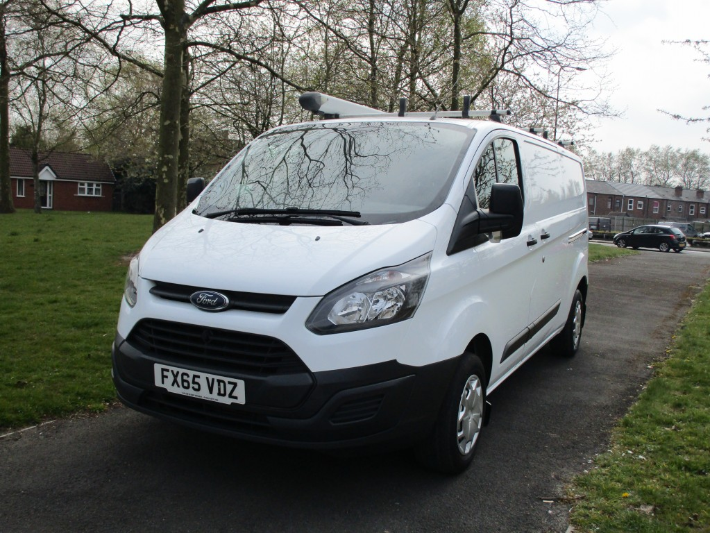 FORD TRANSIT CUSTOM L2 2.2 290 LWB - FSH - ONE OWNER