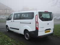FORD TOURNEO CUSTOM LWB 2.2 300 TDCI - 9 SEATER - ONE OWNER - FSH