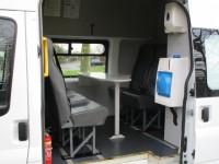 FORD TRANSIT 125 T350 LWB WELFARE MESS VAN - 8 SEATS - TOILET etc