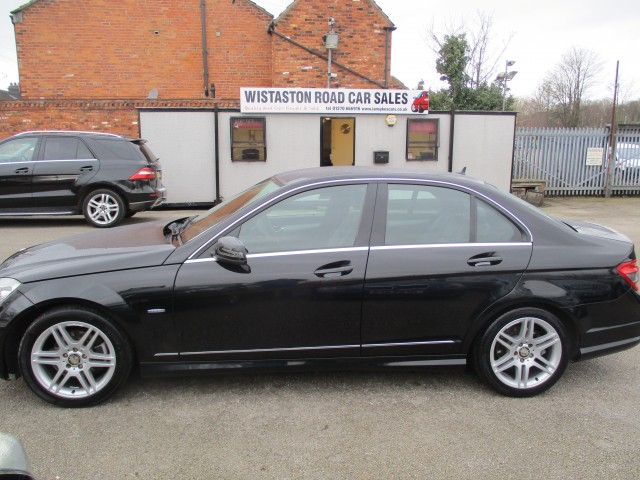 MERCEDES-BENZ C-CLASS 1.8 C180 CGI BLUEEFFICIENCY SPORT 4DR AUTOMATIC