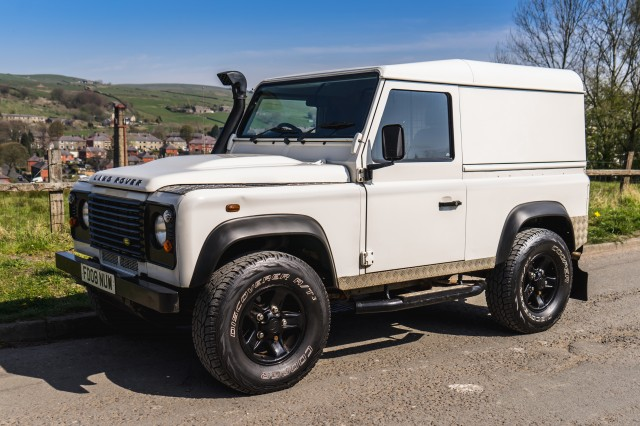 Used LAND ROVER DEFENDER 2.4 90 HARD TOP SWB in Lancashire