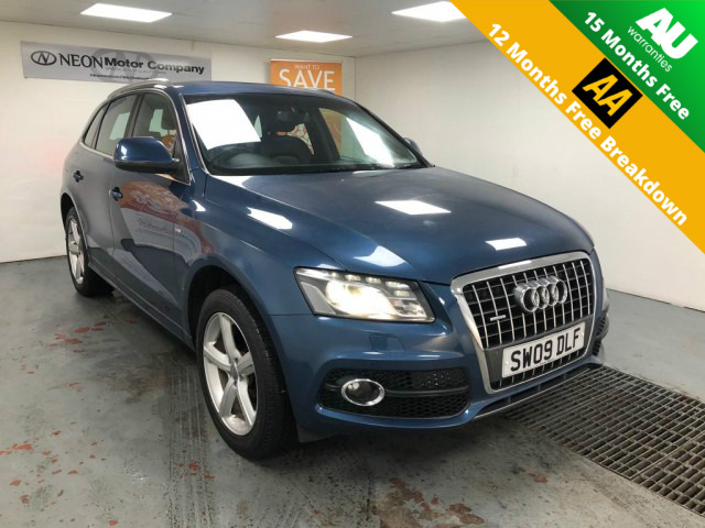 Used AUDI Q5 2.0 TDI QUATTRO S LINE 5DR SEMI AUTOMATIC in West Yorkshire