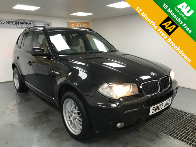 Used BMW X3 2.0 D M SPORT 5DR in West Yorkshire