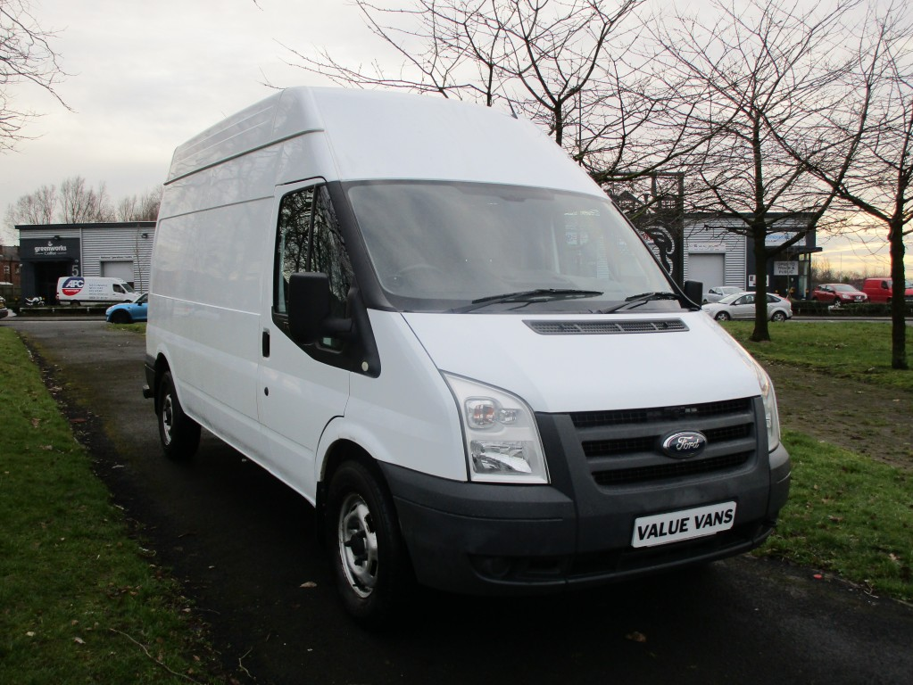 FORD TRANSIT 125 T350 LWB HIGH ROOF - ONE OWNER - FSH
