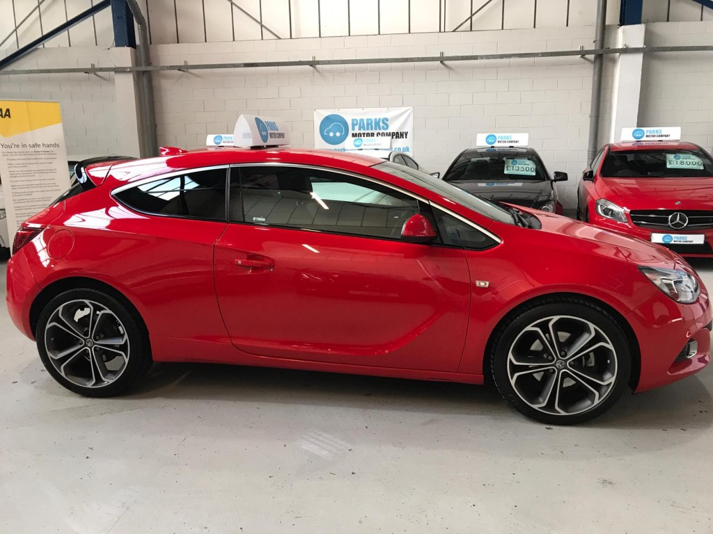 VAUXHALL ASTRA 1.4 GTC LIMITED EDITION S/S 3DR For Sale in ...