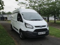 FORD TRANSIT CUSTOM 2.2 290 L2 HIGH ROOF - ONE OWNER - FSH