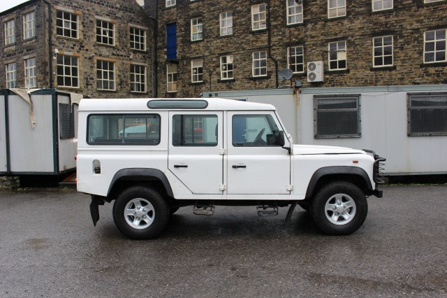 Used LAND ROVER DEFENDER 110 CSW 5DR  in Lancashire