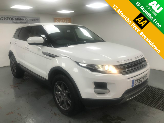 Used LAND ROVER RANGE ROVER EVOQUE 2.2 SD4 PURE 5DR AUTOMATIC in West Yorkshire