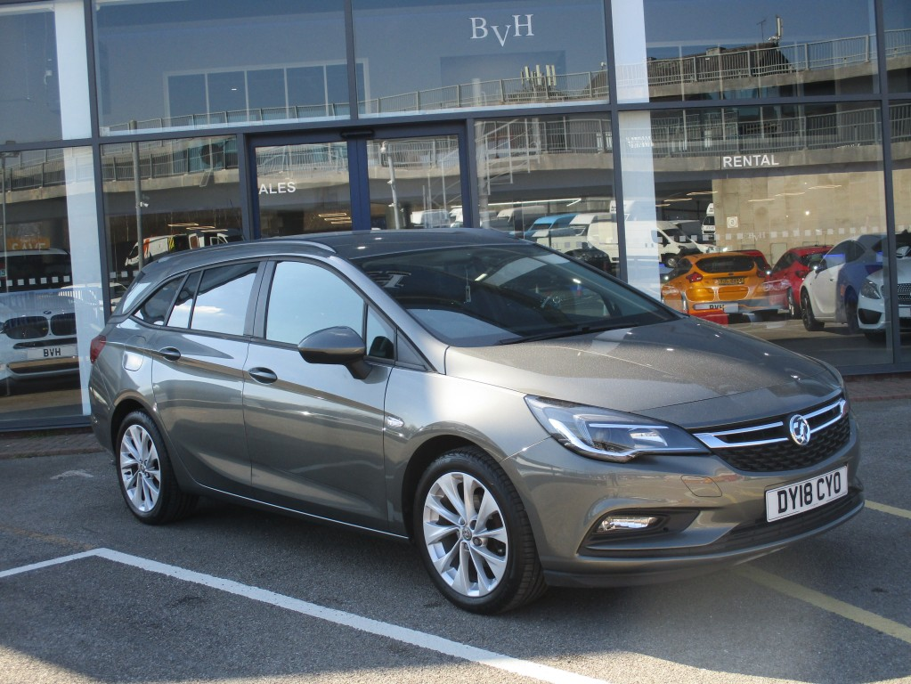 VAUXHALL ASTRA 1.4 DESIGN 5DR