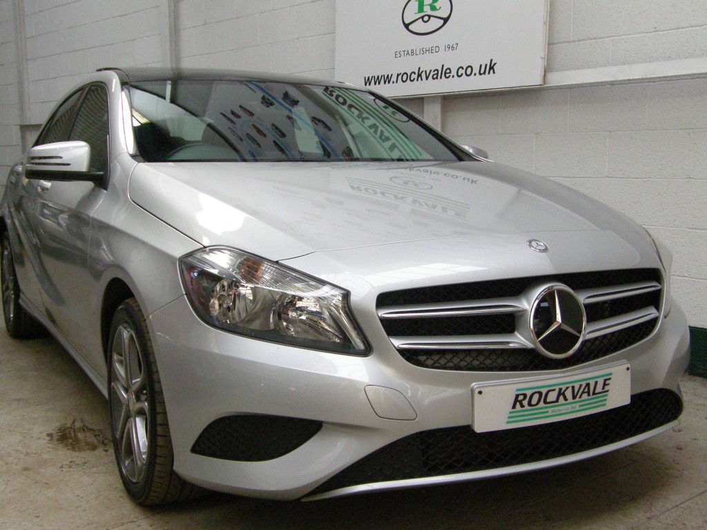 MERCEDES-BENZ A-CLASS 1.6 A180 BLUEEFFICIENCY SPORT 5DR SEMI AUTOMATIC
