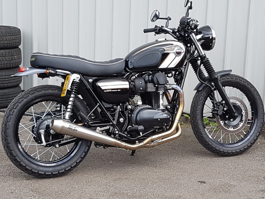 Kawasaki W800 Black Special Edition For Sale In Blackburn Evoque