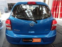 NISSAN MICRA 1.2 ACENTA 5 DOOR HATCH FSH 1 PRE OWNER FROM NEW METALLIC BLUE A/C ALLOYS BLUE-TOOTH CD RADIO
