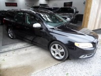 VOLVO V70 2.0 D SE LUX R DESIGN 5 DOOR ESTATE DIESEL 6 SPEED SAT NAV SOFT NAPPA LEATHER AA APPROVED DEALER