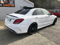 MERCEDES-BENZ C-CLASS 2.1 C220 BLUETEC AMG LINE PREMIUM PLUS 4DR AUTOMATIC