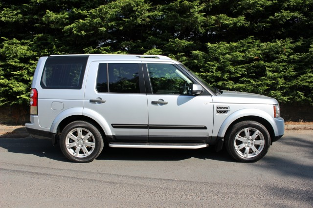 Used LAND ROVER DISCOVERY 3.0 4 TDV6 GS 5DR AUTOMATIC in Lancashire