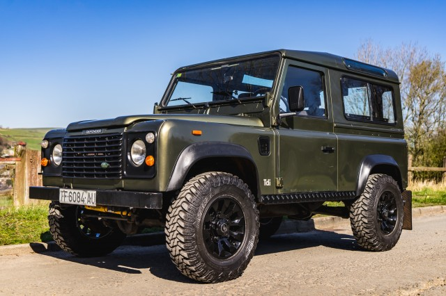 Used LAND ROVER Defender 90 CSW Tdi LHD in Lancashire