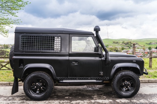 Used LAND ROVER DEFENDER 2.4 90 HARD TOP SWB 2DR in Lancashire