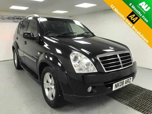 Used SSANGYONG REXTON 2.7 270 SPR 5DR AUTOMATIC in West Yorkshire
