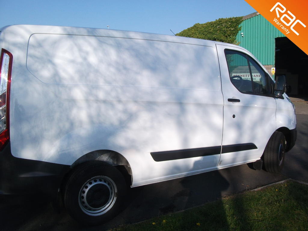 FORD TRANSIT CUSTOM DIESEL PANEL VAN 2.2 290 LR P/V