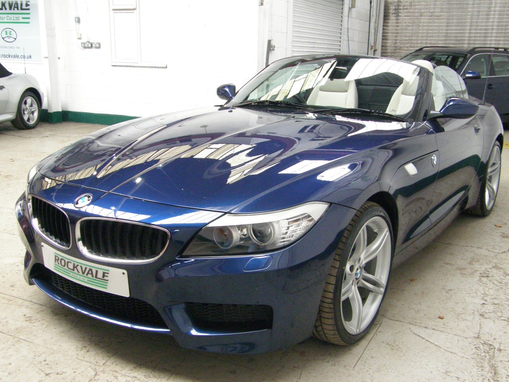 BMW Z SERIES 2.5 Z4 SDRIVE23I M SPORT ROADSTER 2DR