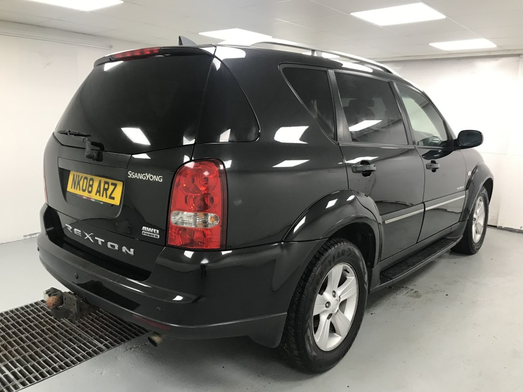 SSANGYONG REXTON 2.7 270 SPR 5DR AUTOMATIC