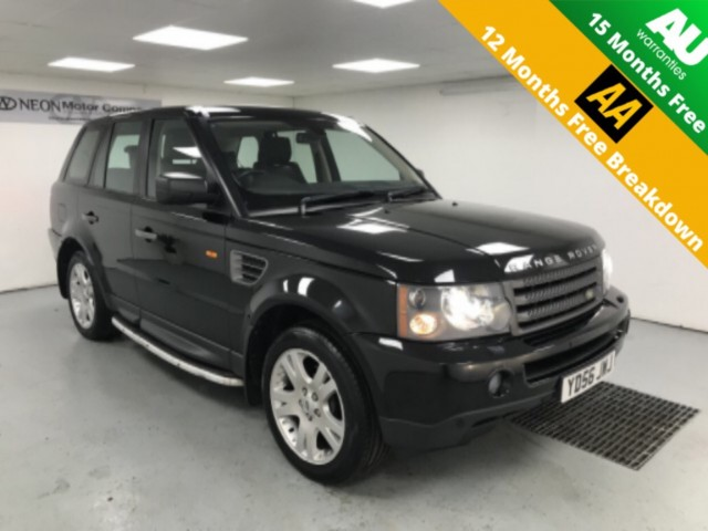 Used LAND ROVER RANGE ROVER SPORT 2.7 TDV6 HSE 5DR AUTOMATIC in West Yorkshire