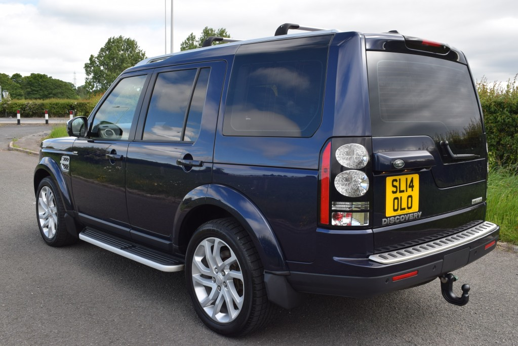 LAND ROVER DISCOVERY 3.0 SDV6 HSE LUXURY 5DR AUTOMATIC