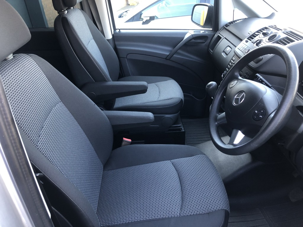 MERCEDES-BENZ VITO 2.1 116 CDI BLUEEFFICIENCY DUALINER