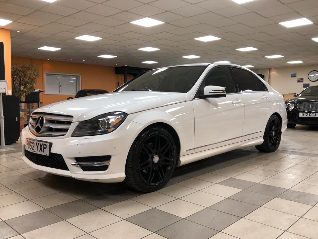 MERCEDES-BENZ C-CLASS 2.1 C220 CDI BLUEEFFICIENCY AMG SPORT PLUS 4DR AUTOMATIC