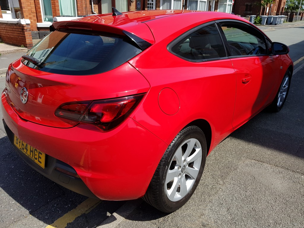 VAUXHALL ASTRA 1.4T GTC SPORT S/S 3DR