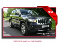 JEEP GRAND CHEROKEE 3.0 V6 CRD LIMITED 5DR AUTOMATIC