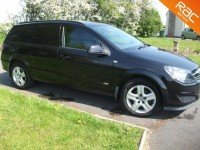 VAUXHALL ASTRA DIESEL CAR DERIVED VAN 1.7 CDTI SPORTIVE