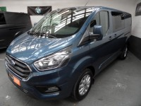 FORD TRANSIT CUSTOM 2.0 320 LIMITED DCIV L2 H1 170-PS 6 SEATS 2019 ICE PK 24 ADAPTIVE CRUISE A/C ALLOYS HEATED SEATS