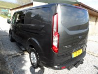 FORD TRANSIT CUSTOM 2.0 320 LIMITED DCIV L2 H1 130PS 6 SEATS DOUBLE CAB VAN LIFTGATE REAR DOOR - TOW PACK SAT NAV HEATE