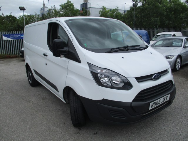 Oryginał 2016 FORD TRANSIT CUSTOM For Sale in Crewe, Cheshire | Preloved AJ51