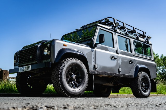 Used LAND ROVER DEFENDER 2.5 110 STATION WAGON TD5 5DR in Lancashire