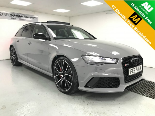 Used AUDI RS6 4.0 RS6 PLUS AVANT TFSI QUATTRO 5DR AUTOMATIC in West Yorkshire