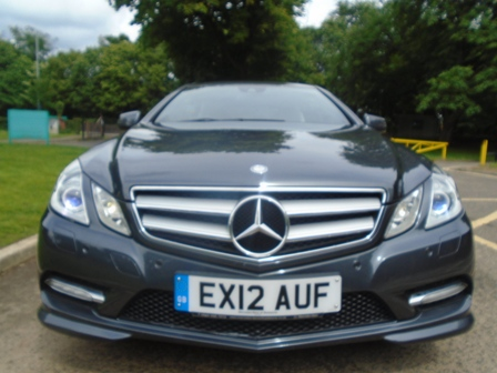 MERCEDES-BENZ E-CLASS 2.1 E220 CDI BLUEEFFICIENCY SPORT 2DR AUTOMATIC