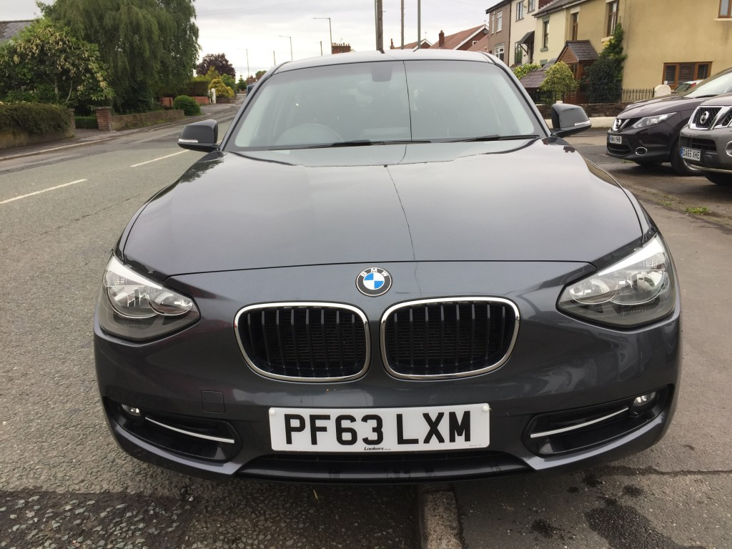 BMW 1 SERIES 1.6 116I SPORT 5DR AUTOMATIC